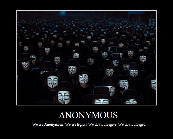 "La comunicazione aggressiva: ""We are Anonymous"""