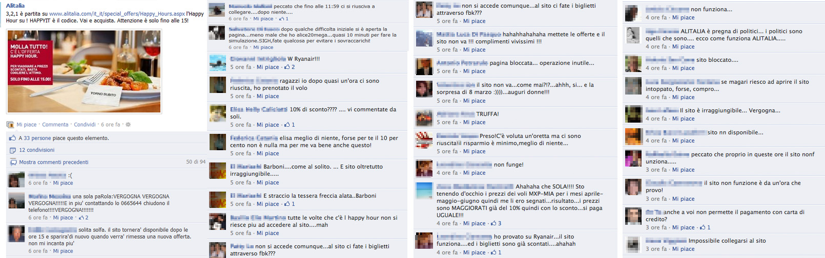 Commenti post Alitalia