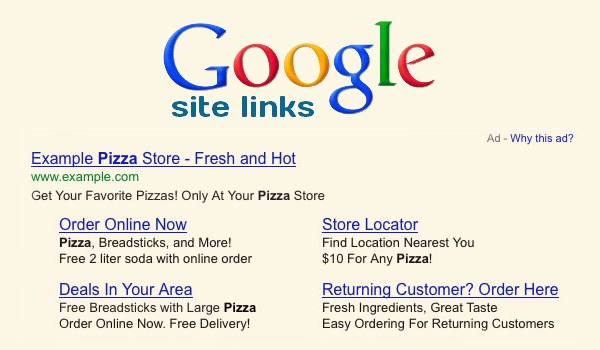 Site-link: come incrementare i click su AdWords
