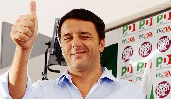 Renzi, l'efficacia della comunicazione vecchio stile